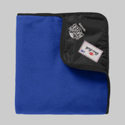 TB850.pgp - Fleece & Poly Travel Blanket